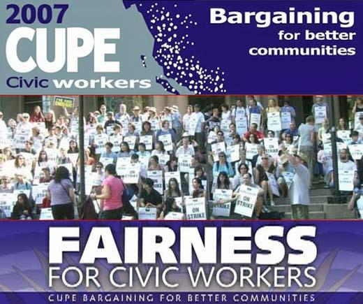 2007 Vancouver civic strike