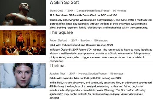 15 New York Film Festival films screening at Vancouver's International Film Festival
