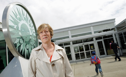 Ainslie Kwan, president of the Killarney Community Centre Society, will be in court Thursday