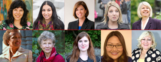 In 2014, the Top Women Candidates for Vancouver City Council