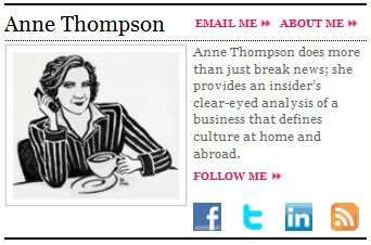 Anne Thompson, 'Thompson on Hollywood'