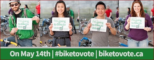 BIKE TO VOTE