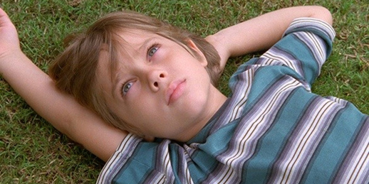 Ellar Coltrane, six years of age, in Richard Linklater's Boyhood