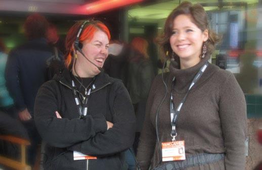 Brie Koniczek & Maja Klempner, VIFF front line staff