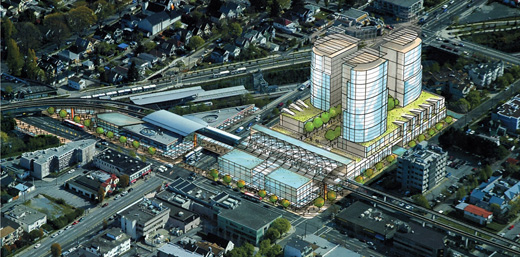 A Much-Reduced In Size Tower Development at Broadway and Commercial Drive