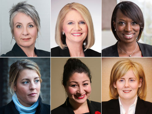 Women who may play a significant role in Justin Trudeau's cabinet