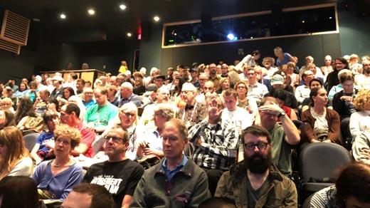 2017 Vancouver International Film Festival's SFU Goldcorp Theatre audience