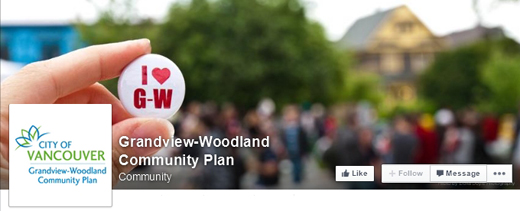 Grandview-Woodland Community Plan Social Media Outreach