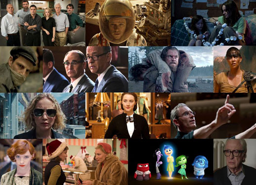 Winter 2015-16 Oscar contenders