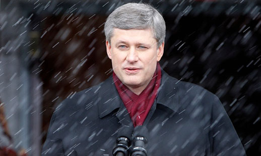 Stephen Harper, the dark god of Canadian politics, and a master manipulator
