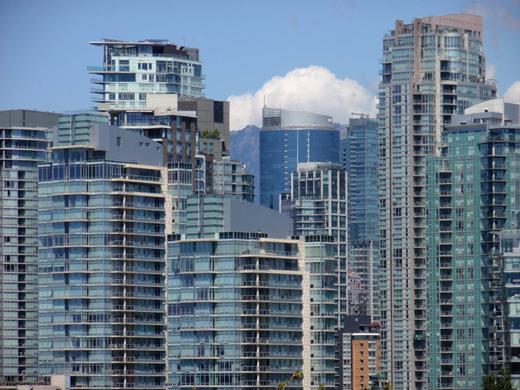Vancouver highrise landscape, circa 2014
