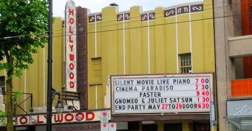 Hollywood Theatre Closes May 29, 2011