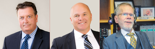 Vancouver's Holy Trinity of City Council candidates: Ian Robertson, Rob McDowell and Tim Louis