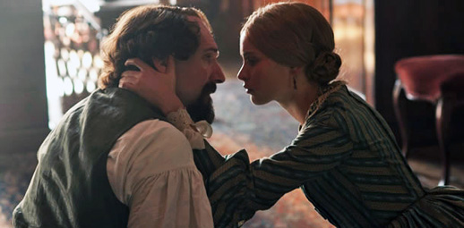 The Invisible Woman, Felicity Jones and Ralph Fiennes