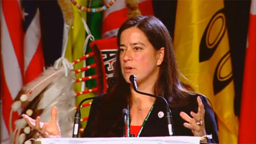 Jody Wilson Raybould, Justice Minister and Attorney-General of Canada