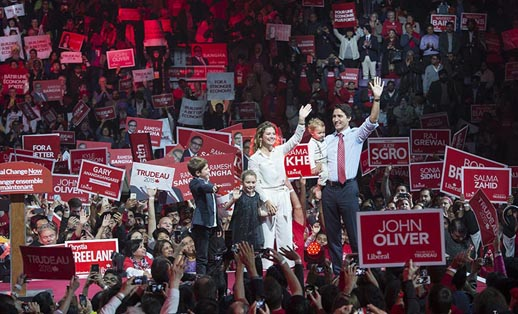 Second wave Trudeaumania, as Justin Trudeau brings generational change to Ottawa