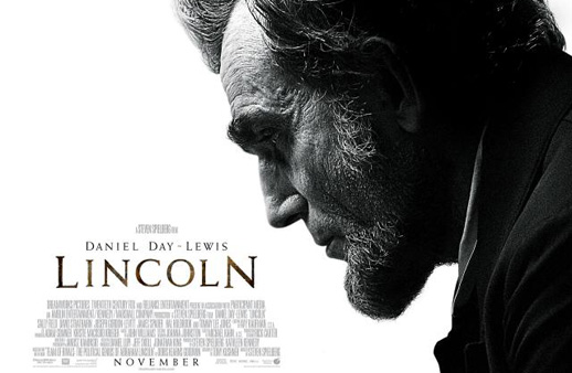 Steven Spielberg's new Oscar-bound film, Lincoln, starring Daniel Day Lewis