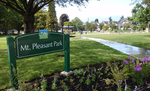 Mount Pleasant Park, Where Erin Shum is Committed to Building Oudoor Pool