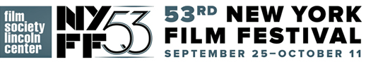 53rd annual New York Film Festival