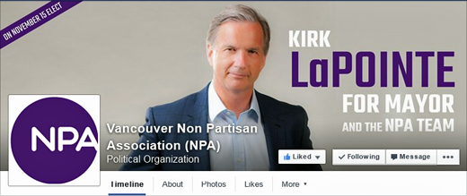 Non-Partisan Association Facebook page