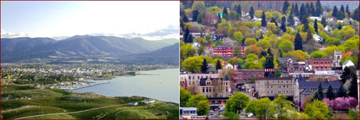 British Columbia's Okanagan, and Kootenays