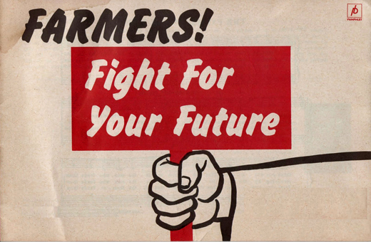 Saskatchewan Progressive Party pamphlet, circa 1930