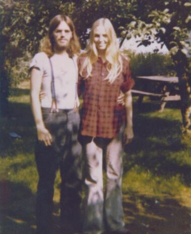Raymond Tomlin and Cathy McLean, circa 1972