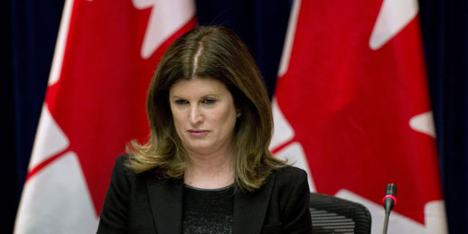 Rona Ambrose, interim leader of the Conservative Party