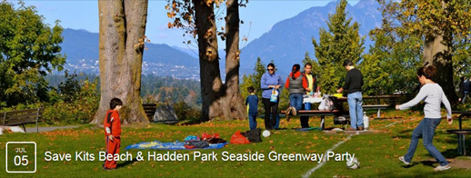 Save Kits Beach & Hadden Park Seaside Greenway Picnic