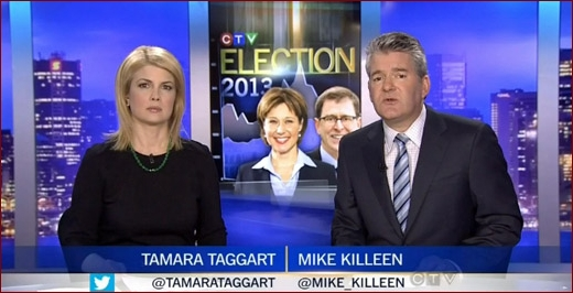 Click on picture for CTV BC report on BC NDP's widening lead in BC provincial election