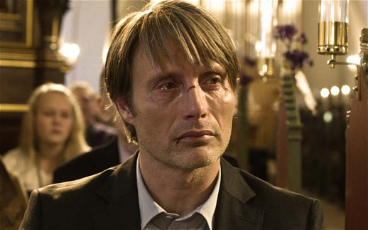 Mads Mikkelsen in Thomas Vinterberg's, The Hunt