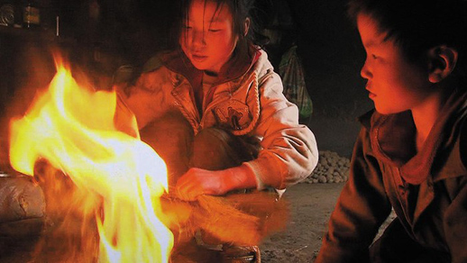 Wang Bing's Three Sisters screened at the 2012 Vancouver International Film Festival