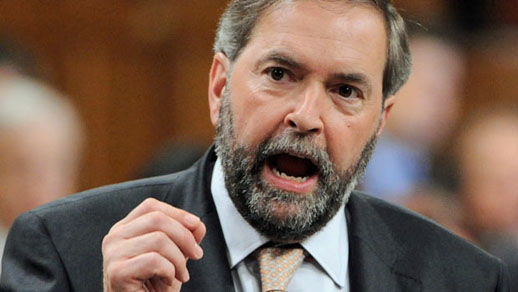 2015 Canadian Federal election, Tom Mulcair, leader of the New Democratic Party