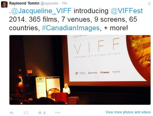 Jacqueline Dupuis, Executive Director, Vancouver International Film Festival