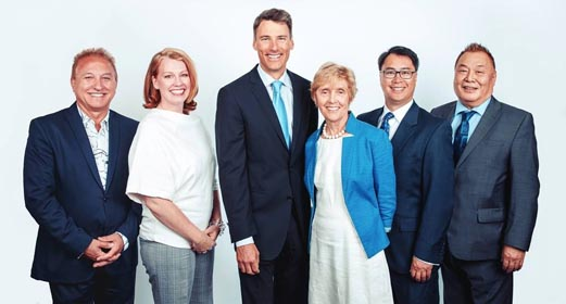 Vision Vancouver 2017 by-election team of School Board candidates