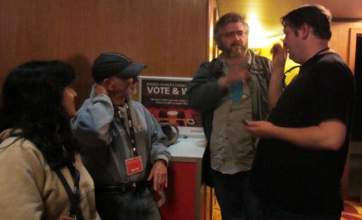 Covering VIFF: Risako Urakabe, J.B. Shayne, Peter Chattaway and Jason Whyte