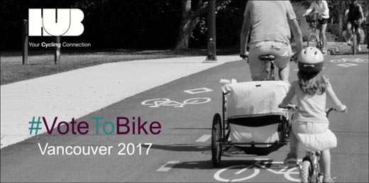 Vote Bike in the 2017 Vancouver City By-Election for Council