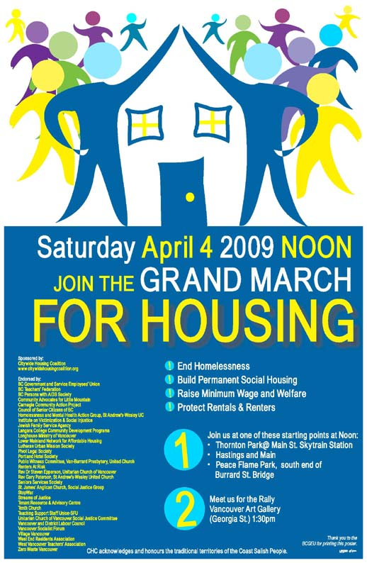 GRAND MARCH FOR HOUSING