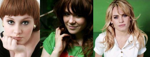 BRITISH BLUES SINGERS: ADELE, KATE NASH, DUFFY