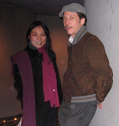 VIFF PROGRAMME MANAGER POCHU AU YEUNG & 'A PROPHET' STAR REDA KATEB