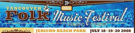 2008 VANCOUVER FOLK MUSIC FESTIVAL